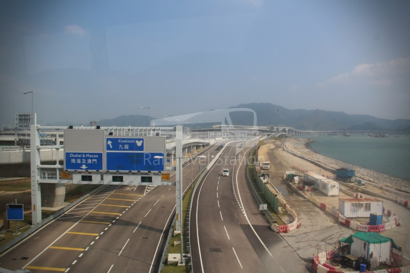 New Lantao Bus B4 HZMB Hong Kong Port Airport 030