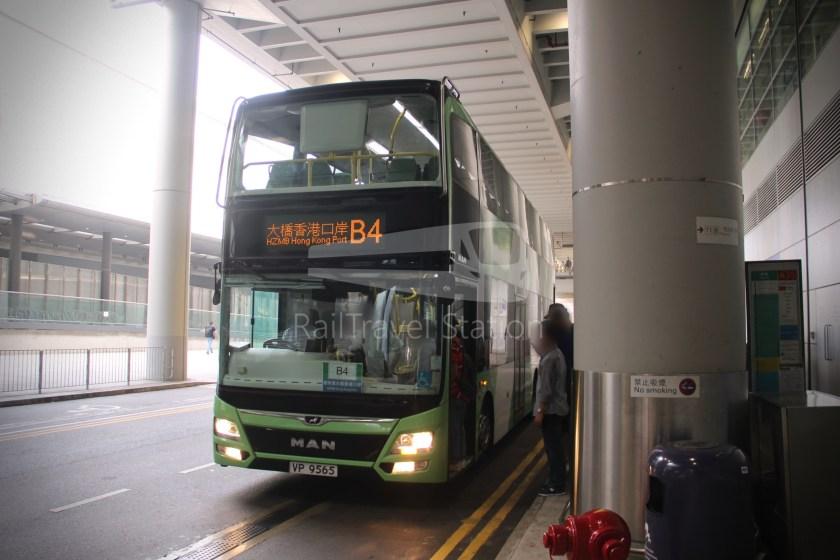 New Lantao Bus B4 HZMB Hong Kong Port Airport 041