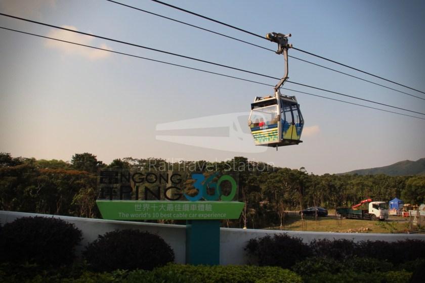 Ngong Ping 360 Cable Car Tung Chung Ngong Ping 065