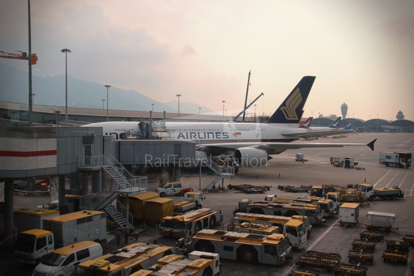 Singapore Airlines SQ861 Hong Kong Singapore 024