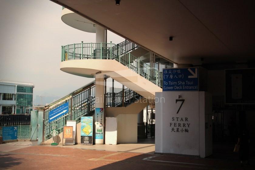 Star Ferry Central Tsim Sha Tsui Lower Deck 006