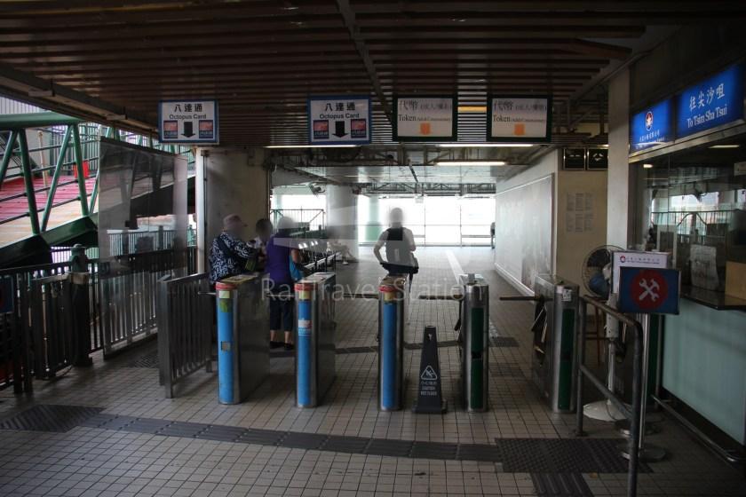 Star Ferry Central Tsim Sha Tsui Lower Deck 014