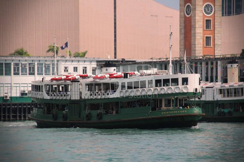 Star Ferry Central Tsim Sha Tsui Lower Deck 041