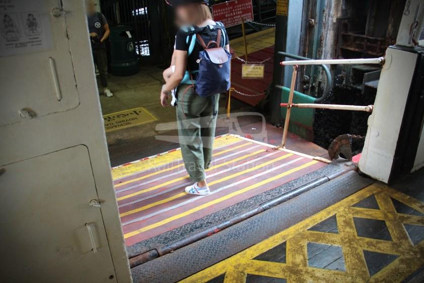Star Ferry Central Tsim Sha Tsui Lower Deck 059
