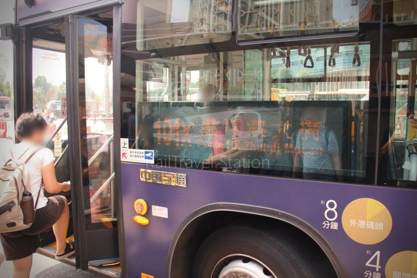 TCM 101X Praça Ferreira Amaral Posto Fronteiriço da Ponte Hong Kong–Zhuhai–Macau 006