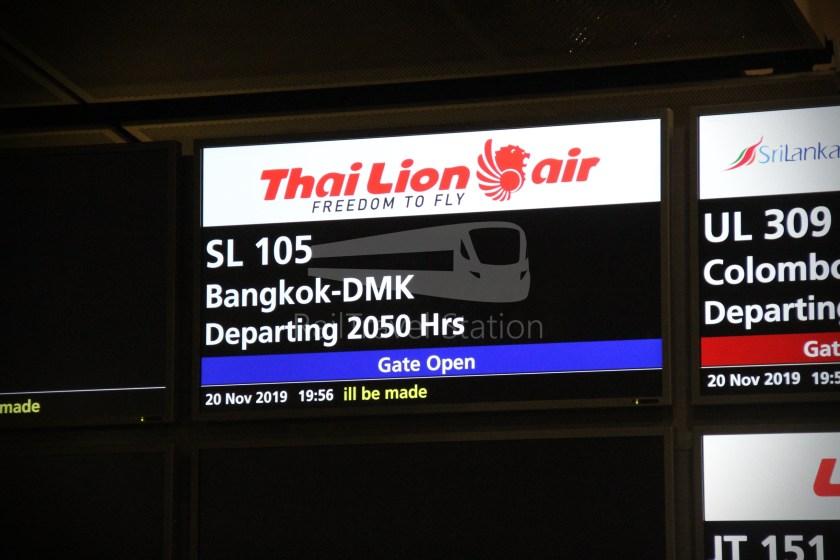 Thai Lion Air SL105 SIN DMK 333 022