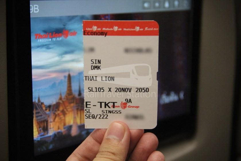 Thai Lion Air SL105 SIN DMK 333 052