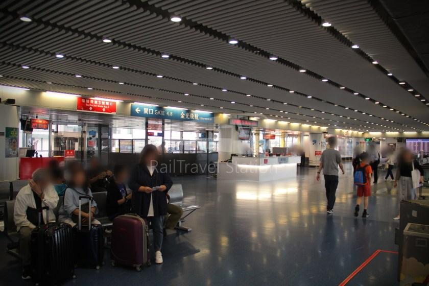 TurboJET Hong Kong Macau Ferry Terminal Macau Outer Harbour Ferry Terminal 014