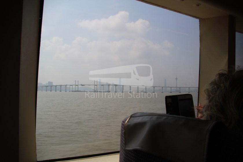 TurboJET Hong Kong Macau Ferry Terminal Macau Outer Harbour Ferry Terminal 048