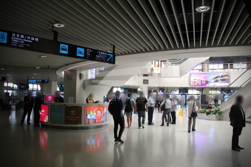 TurboJET Hong Kong Macau Ferry Terminal Macau Outer Harbour Ferry Terminal 056