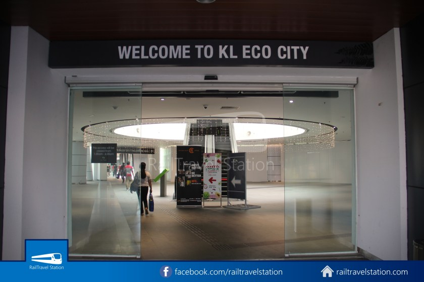Abdullah Hukum LRT & KTM – KL Eco City – The Gardens Mid Valley Link Bridge 026