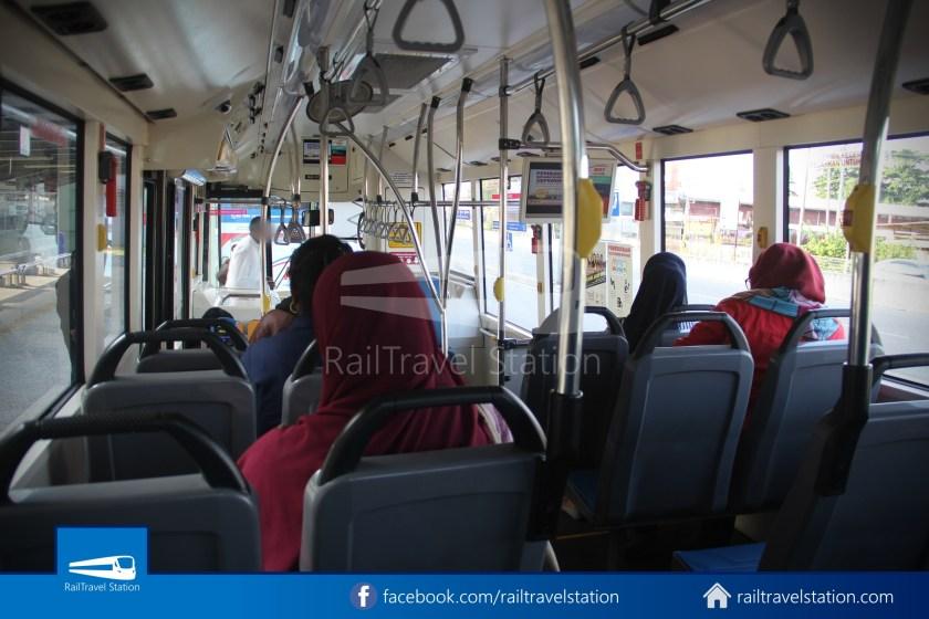 MRT SBK Line Feeder Bus T462 Kajang MRT KIPMall Bangi 006