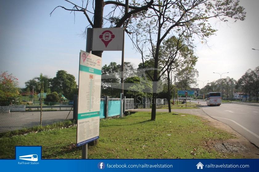 MRT SBK Line Feeder Bus T462 Kajang MRT KIPMall Bangi 009