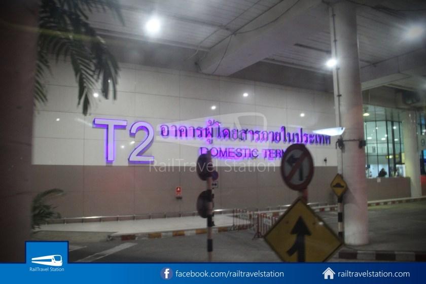 Don Mueang Airport Bus A1 DMK Chatuchak Park MRT 010
