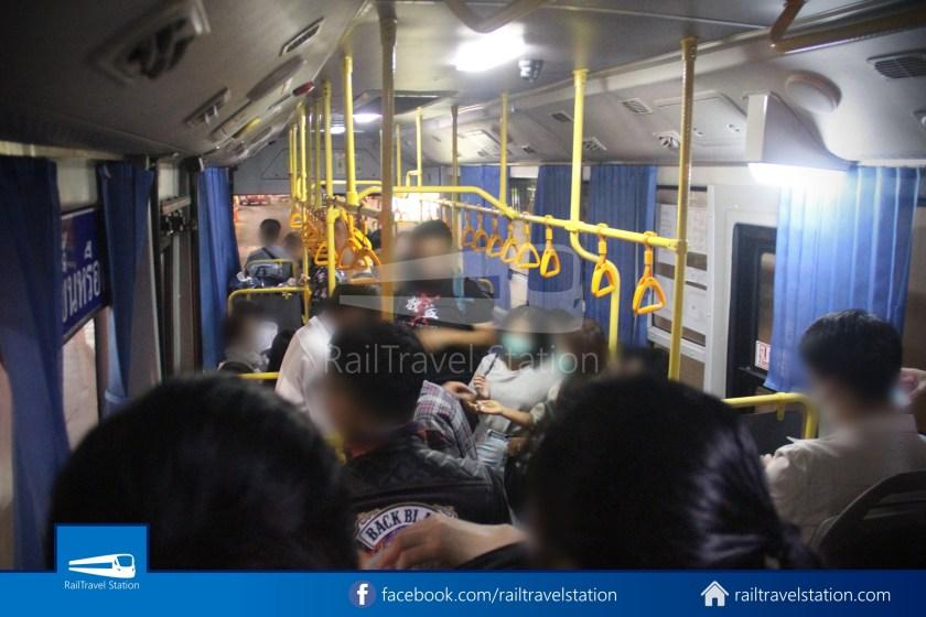 Don Mueang Airport Bus A1 DMK Chatuchak Park MRT 013