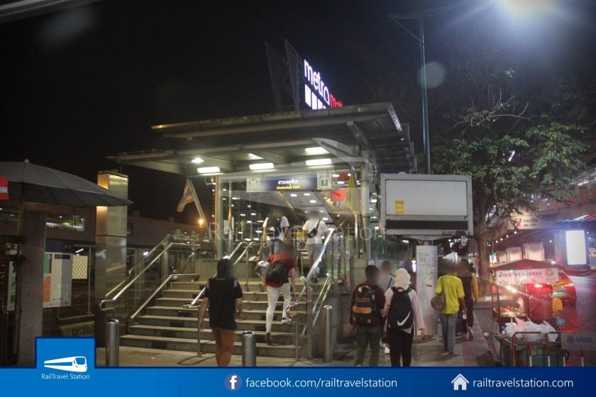 Don Mueang Airport Bus A1 DMK Chatuchak Park MRT 020