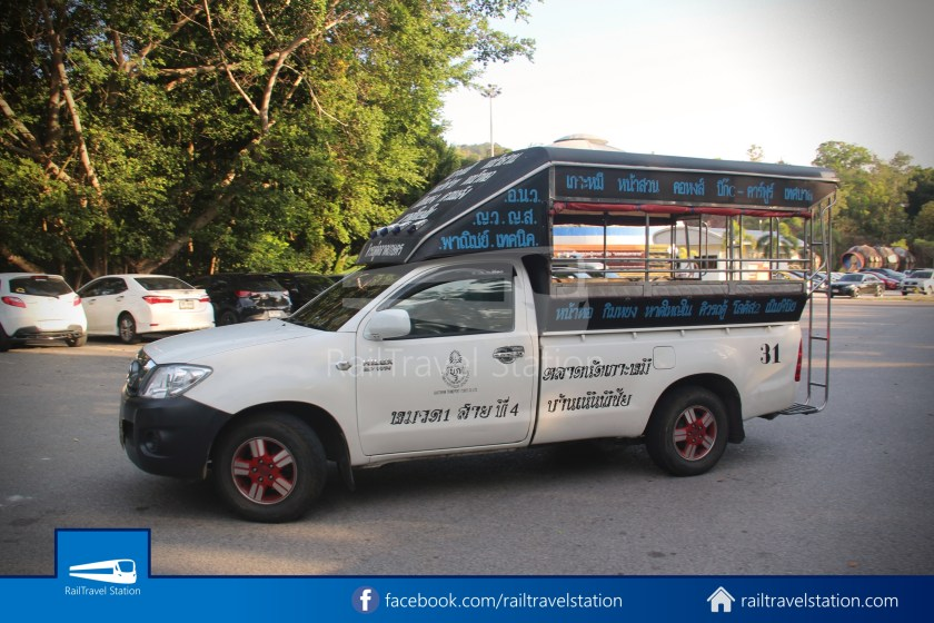 Hat Yai City Municipality Park Shuttle Songthaew Cable Car Wonders Land 007