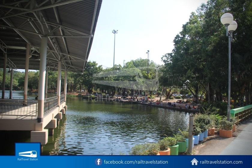 Hat Yai City Municipality Park Shuttle Songthaew Wonders Land Cable Car 016