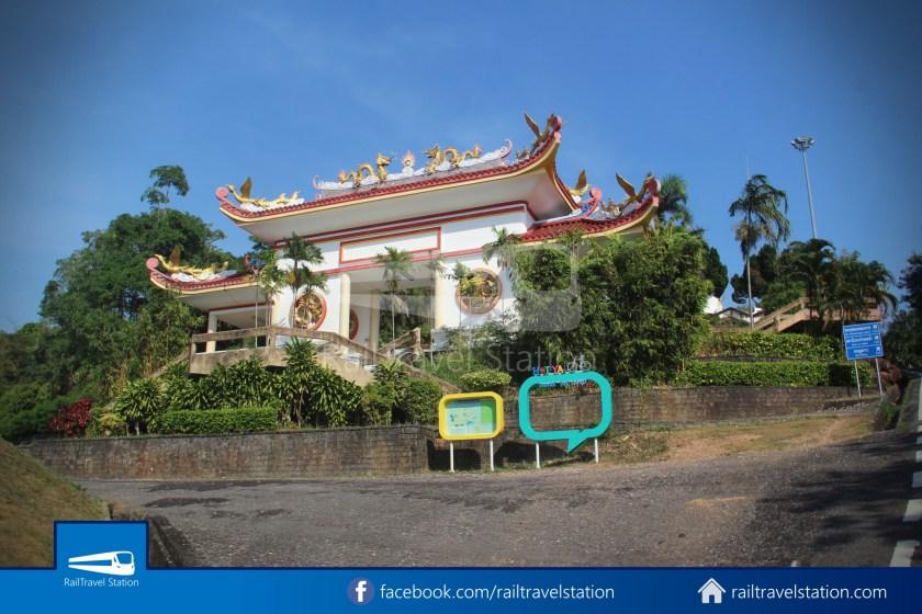 Hat Yai City Municipality Park Shuttle Songthaew Wonders Land Cable Car 023