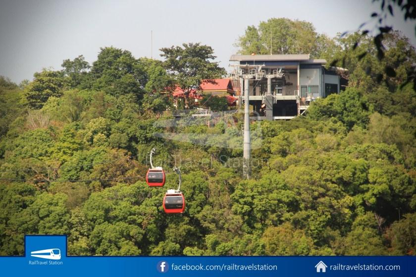 Hat Yai City Municipality Park Shuttle Songthaew Wonders Land Cable Car 029