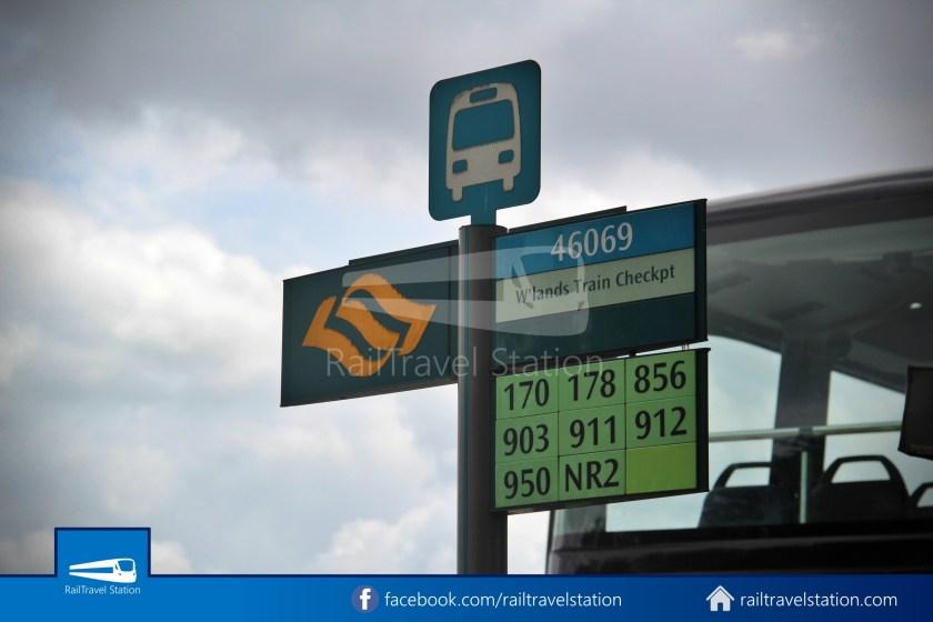 SMRT 856 Woodlands Train Checkpoint Woodlands North MRT 001