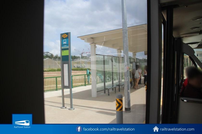 SMRT 856 Woodlands Train Checkpoint Woodlands North MRT 014
