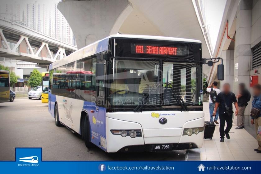 Causeway Link AA1 Senai Airport JB Sentral 3pm 027