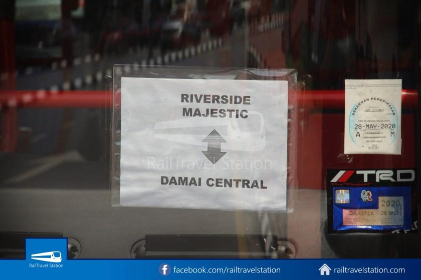 H2 Sarawak Damai Bus at Riverside Majestic 004