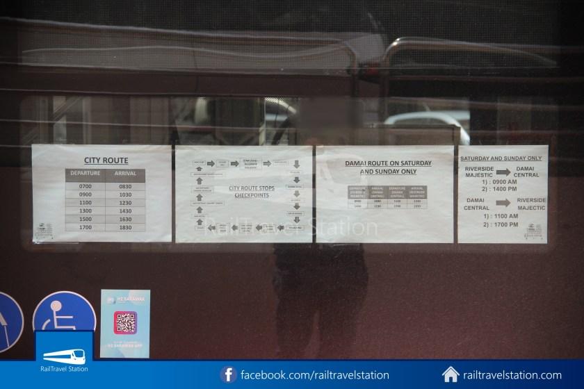 H2 Sarawak Damai Bus at Riverside Majestic 006