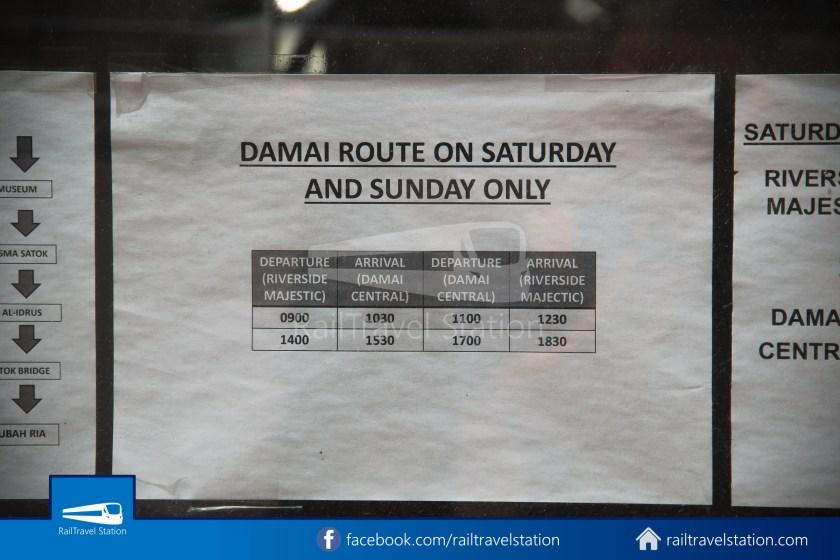 H2 Sarawak Damai Bus at Riverside Majestic 009