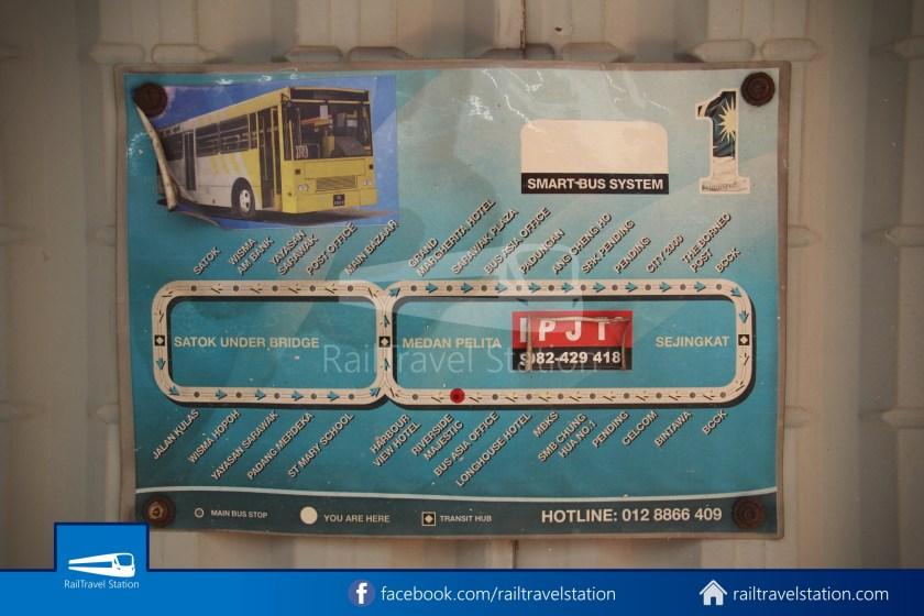 H2 Sarawak Damai Bus at Riverside Majestic 014