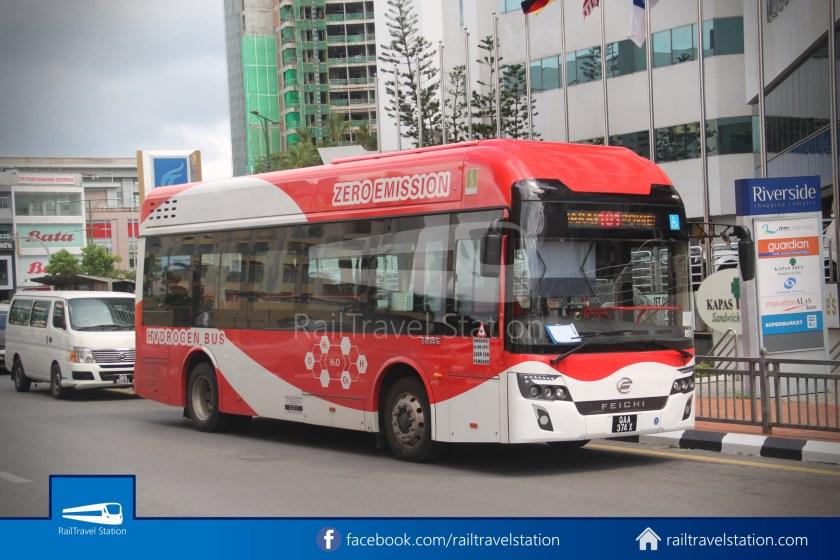 H2 Sarawak Hydrogen Bus Downtown Heritage Loop 002