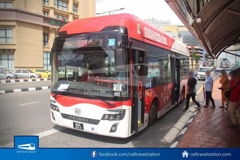 H2 Sarawak Hydrogen Bus Downtown Heritage Loop 005