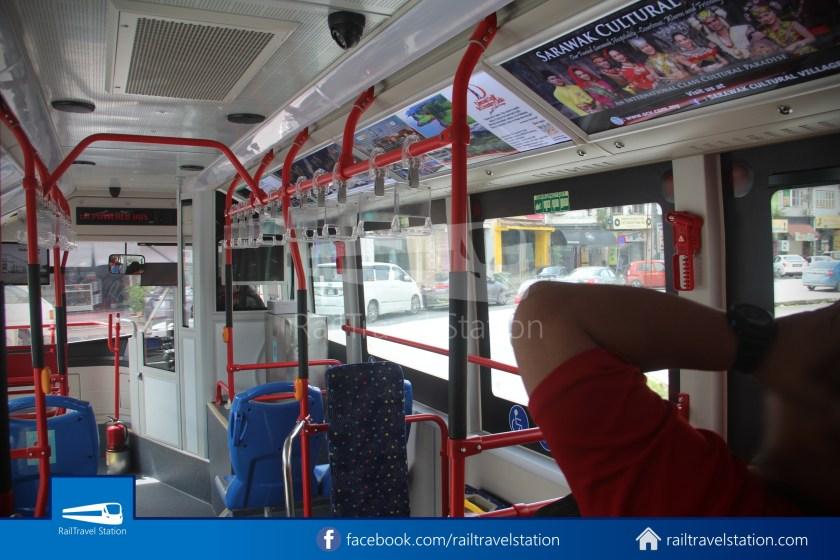 H2 Sarawak Hydrogen Bus Downtown Heritage Loop 010