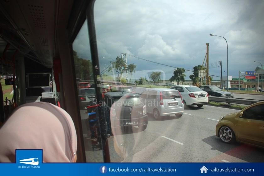 H2 Sarawak Hydrogen Bus Downtown Heritage Loop 032