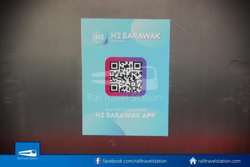 H2 Sarawak Hydrogen Bus Downtown Heritage Loop 038