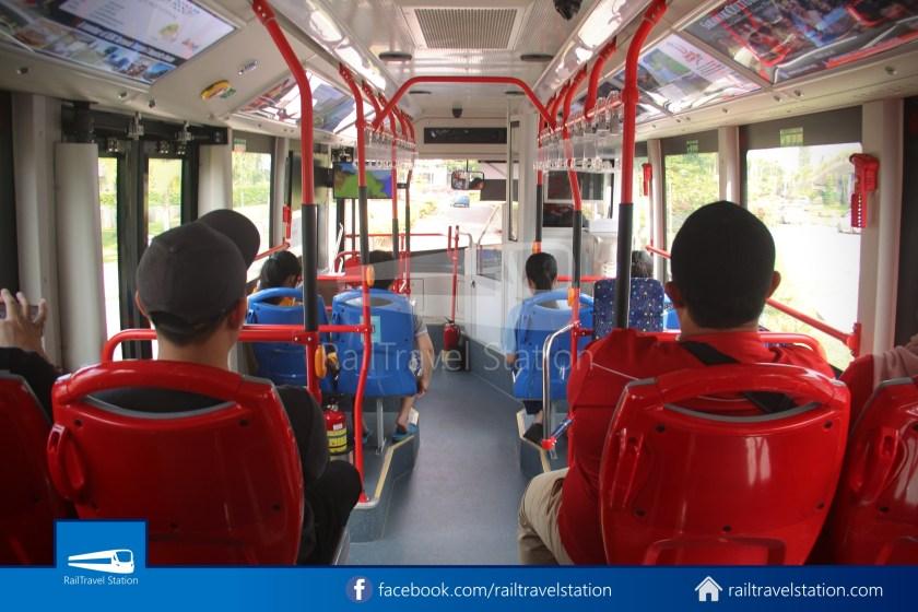 H2 Sarawak Hydrogen Bus Downtown Heritage Loop 048