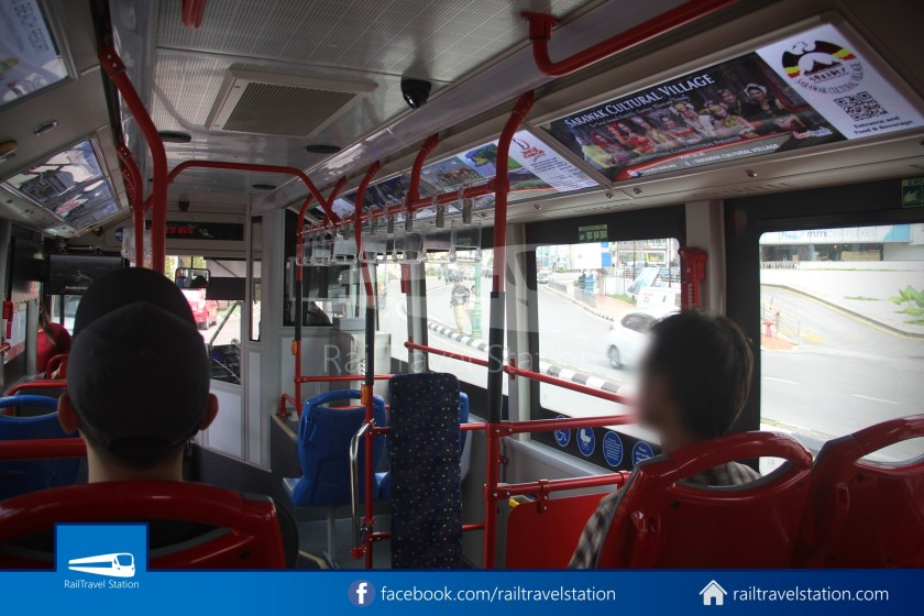 H2 Sarawak Hydrogen Bus Downtown Heritage Loop 079