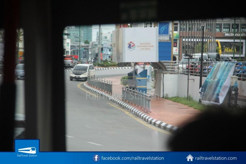 H2 Sarawak Hydrogen Bus Downtown Heritage Loop 080