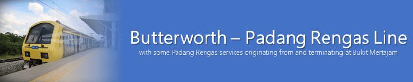 Komuter Banners Butterworth – Padang Rengas Line 2