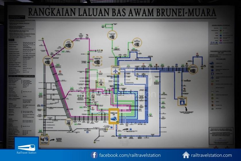 Brunei-Muara Public Bus Service 34 BSB Bus Terminal Airport 02