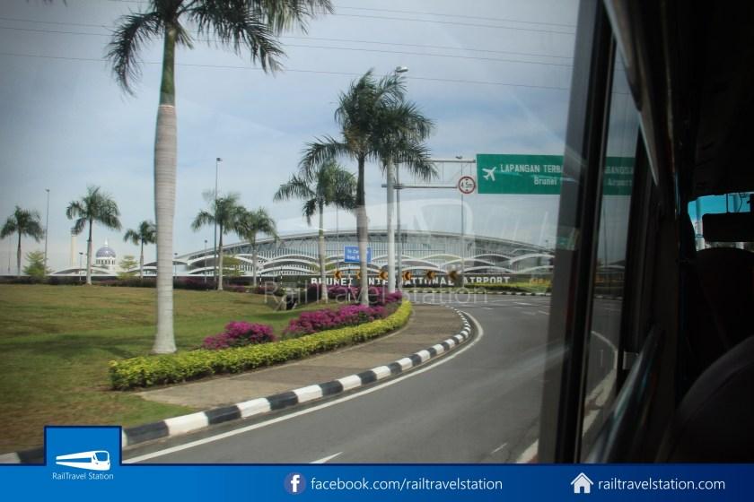Brunei-Muara Public Bus Service 34 BSB Bus Terminal Airport 21