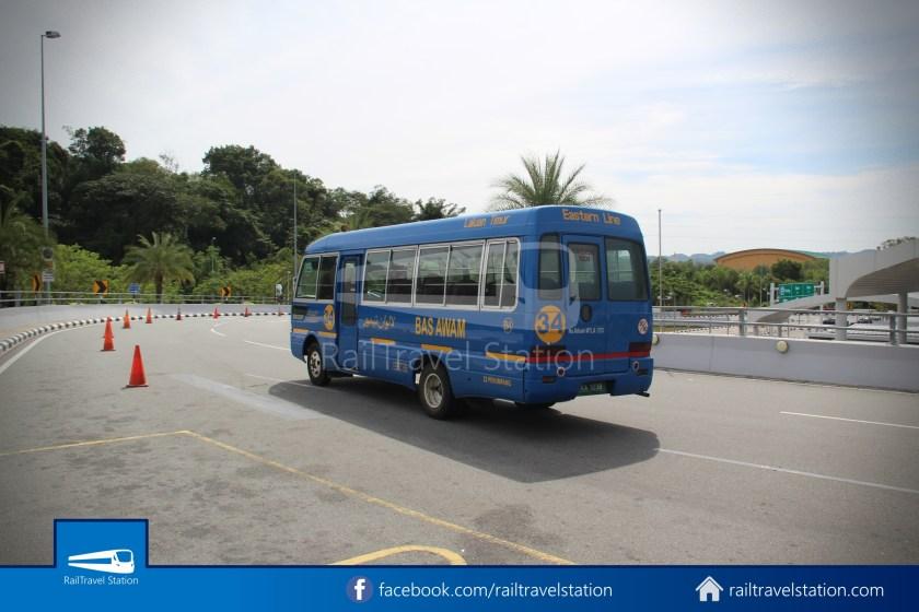 Brunei-Muara Public Bus Service 34 BSB Bus Terminal Airport 27