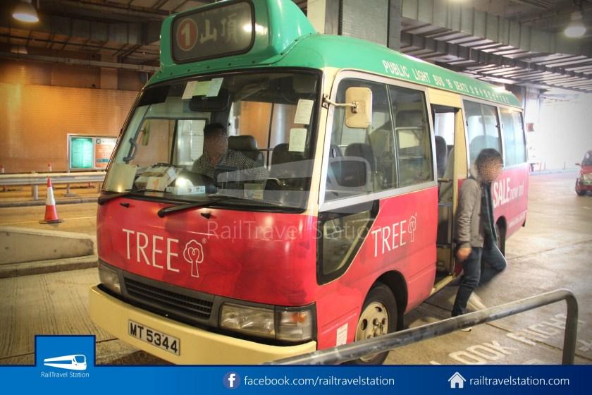 Green Minibus Route 1 HK Squash Centre The Peak 09