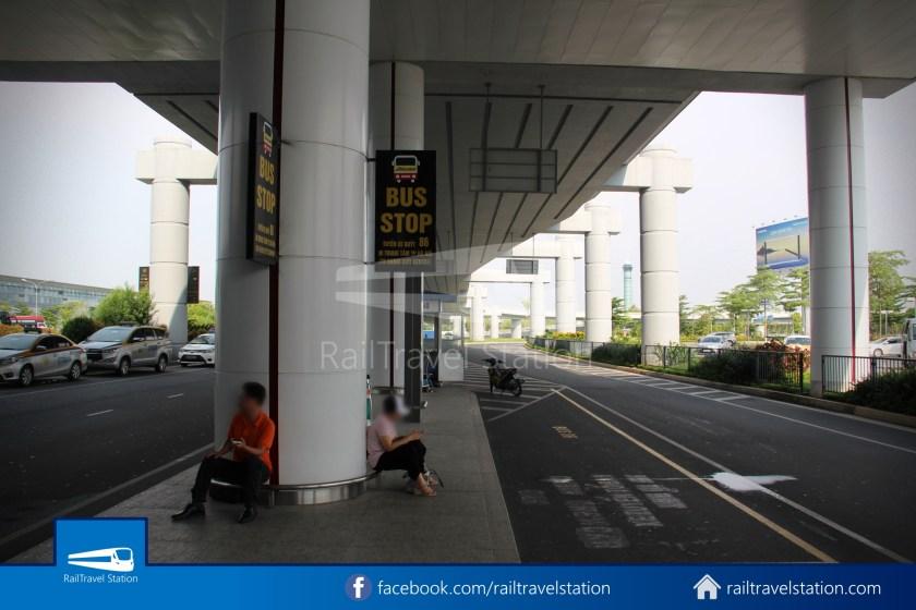 Hanoibus Airport Bus 86 Noi Bai International Airport Hanoi Railway Station 02