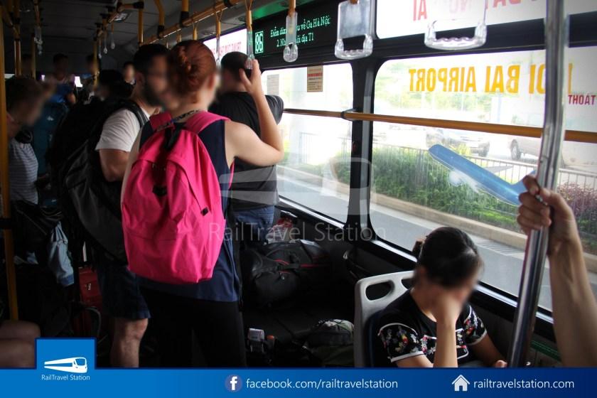 Hanoibus Airport Bus 86 Noi Bai International Airport Hanoi Railway Station 08