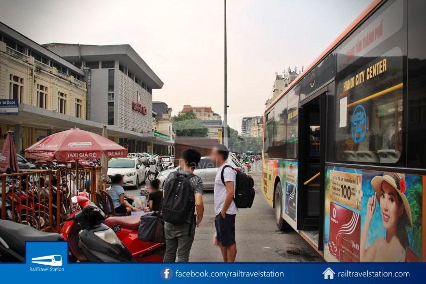 Hanoibus Airport Bus 86 Noi Bai International Airport Hanoi Railway Station 25
