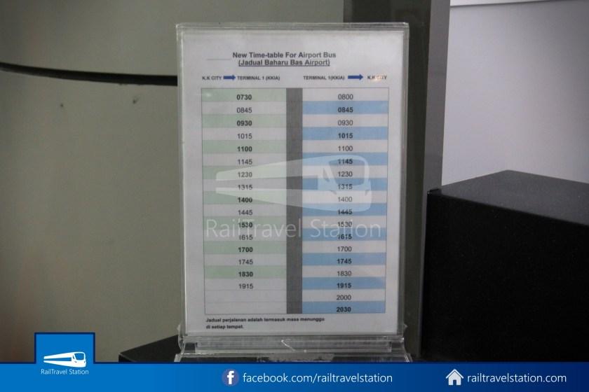 Kota Kinabalu Airport Bus KKIA Padang Merdeka 02