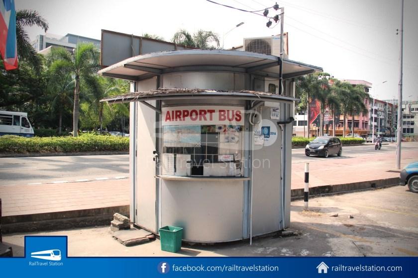 Kota Kinabalu Airport Bus Padang Merdeka KKIA 02