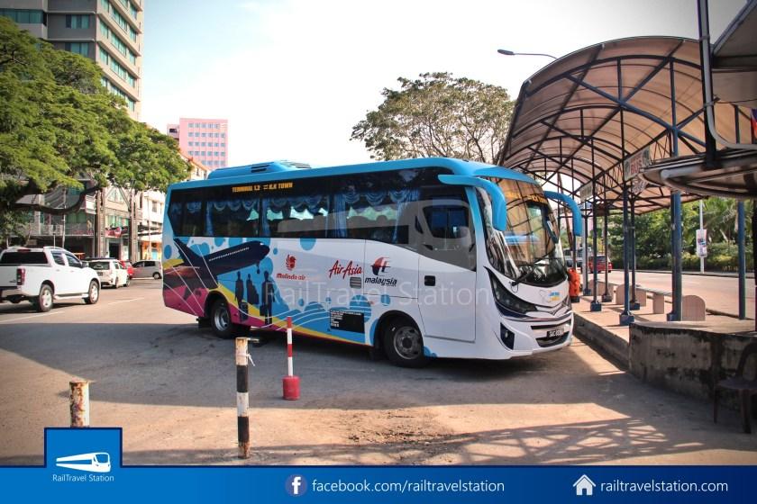 Kota Kinabalu Airport Bus Padang Merdeka KKIA 04